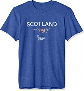 FIFA Officially Licensed Scotland Men's Tee, Royal Heather, Large