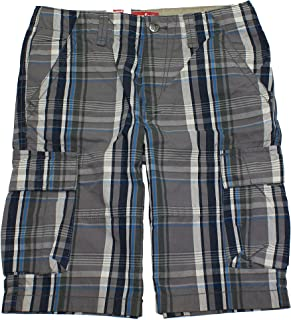 "LEVI STRAUSS & CO. Big Boys 8-20 Cargo Shorts (10"" Inseam) LS-4"
