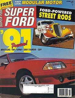 Super Ford Magazine, October 1990 (Vol. 15, No. 5)