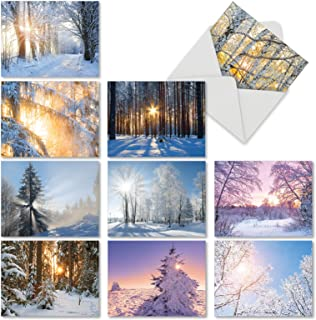 Best winter scene xmas cards Reviews