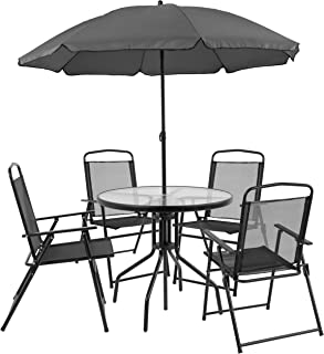 Amazon Com 100 To 200 Patio Furniture Sets Patio Furniture