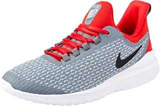 Nike Australia Renew Rival Boys Running Shoes, Cool Grey/Black-University Red
