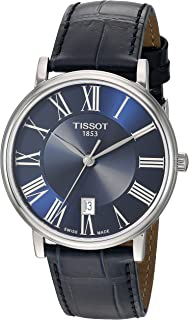 unisex-adult Carson Stainless Steel Dress Watch Blue...