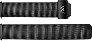 Welly Merck 18mm/20mm Stainless Steel Quick Release Mesh Strap Interchangeable Band