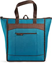 Rachael Ray Thermal Tote Bag for Cold or Hot Food, Insulated, Reusable, Sea Chillout, Large, Marine Blue
