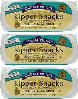 Ocean Prince Kipper Snacks Pack of 3
