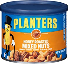 Planters Honey Roasted Mixed Nuts (10 oz Canisters, Pack of 4)