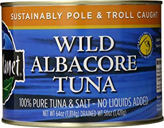 Wild Planet, Bulk Wild Albacore Tuna, 3rd Party Mercury Tested, 64 Ounce