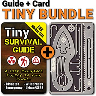 "Tiny Survival Guide: A Life Insurance Policy in Your Pocket - The Ultimate ""Survive Anything"" Everyday Carry: Emergency, Disaster Preparedness Micro-Guide"