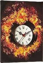 Clockity Decorative Canvas Wall Clock-28 x 38 cm