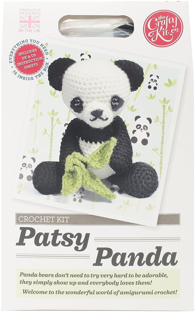 The Crafty Kit Company CKC-CK-043/2 Crochet Kit-Patsy Panda