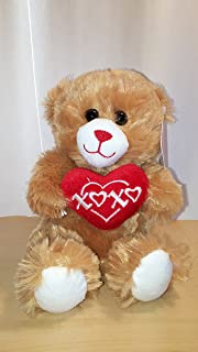 Valentines Day Small Bear with Heart - Dan Dee Collectors Choice