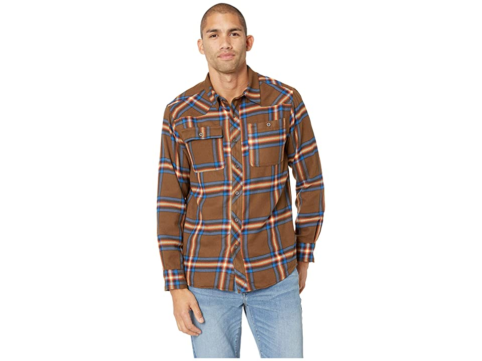 Outdoor Research Feedback Flannel Shirttm (Carob Plaid) Men