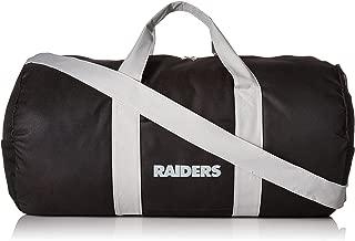 Oakland Raiders Vessel Barrel Duffle Bag