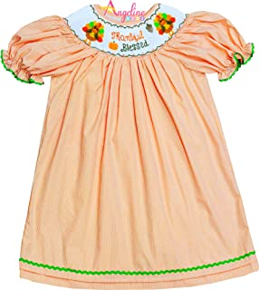 silly goose smocked dress