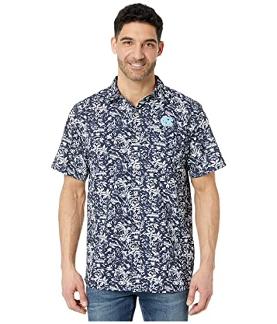 Columbia College North Carolina Tar Heels CLG Super Slack Tidetm Shirt (Collegiate Navy) Men