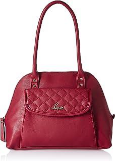 Lavie Mount 1 Dome Satchel Women's Handbag (Red)