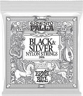 Ernie Ball Ernesto Palla Nylon Black and Silver Classical Ti