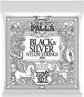 Ernie Ball P02406 Ernesto Palla Black and Silver Nylon Classical Guitar String