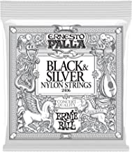 Ernie Ball P02406 Ernesto Palla Black and Silver Nylon Classical Guitar String