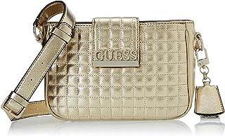 GUESS Women's Matrix Shoulder Bag, Color: Gold