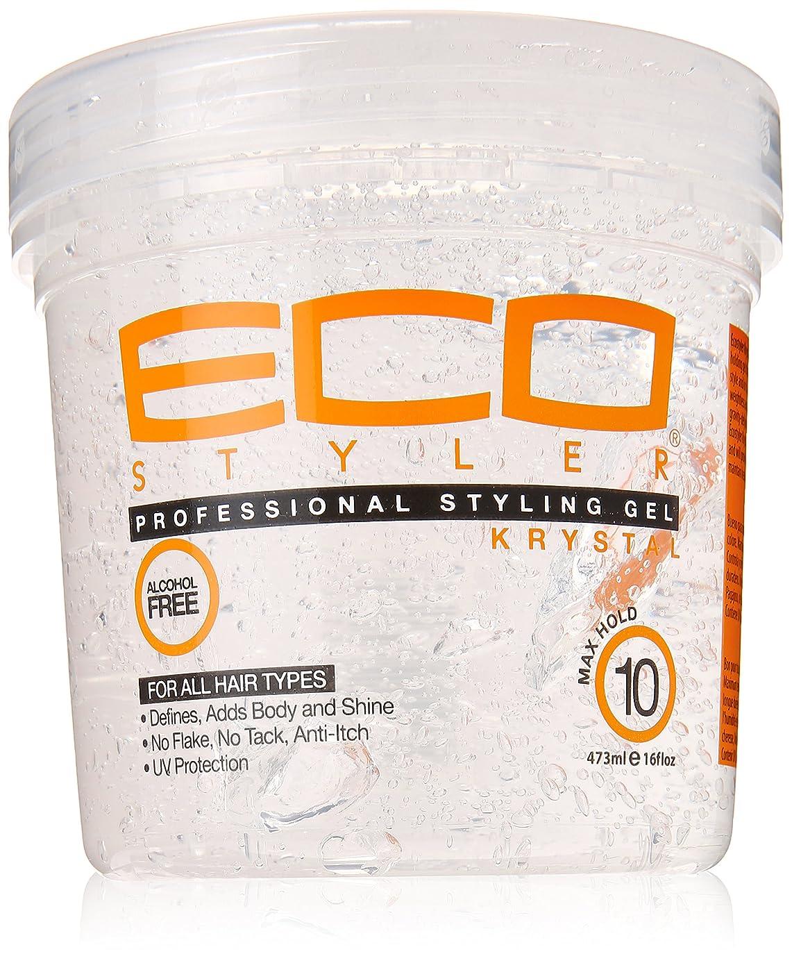 火山学原始的な人に関する限りEco Styler Krystal Styling Gel 470 ml (並行輸入品)
