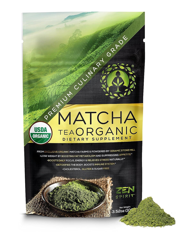 Organic Matcha Green Tea - 2021 spring and summer new Japanese Powder Culinar Branded goods