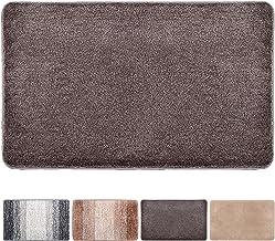 Julone Indoor Doormat No Odor Non Slip Rubber Backing Super Absorbent Mud and Water Door Mats Inside Entrance Floor Rugs P...