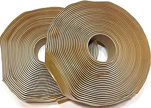 Colorimetrics Gray Putty Tape / Butyl Tape 1/8 x 1 x 30' (2-Pack) by DEHCO