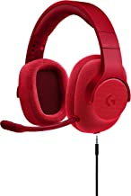 Logitech 981-000650 - G433 Wired 7.1 Gaming Headset (Red) - Renewed