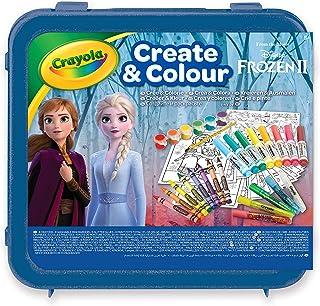 Crayola Frozen 2 Create and Colour Case, 04-0634-E-000, Multi-colour