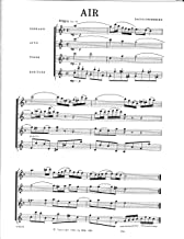 Air from Suite No.3 for Saxophone Quartet by J.S. Bach
