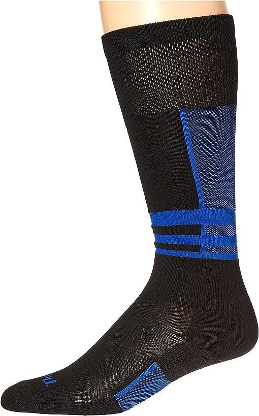 Black/Laser Blue