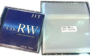 100 Pcs Standard CD Jewel Case Cello/Cellophane Bags (by UNIQUEPACKING)