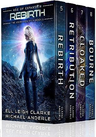 The Ascension Myth Boxed Set (Books 5-8): Rebirth, Retribution, Cloaked, Bourne (The Ascension Myth Boxed Sets Book 2) (English Edition)