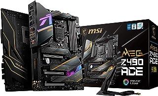 MSI - MEG Z490 Ace - Placa Base Enthusiast Gaming (10th Gen Intel Core, LGA 1200 Socket, SLI/CF, Triple Ranura M.2, USB 3....