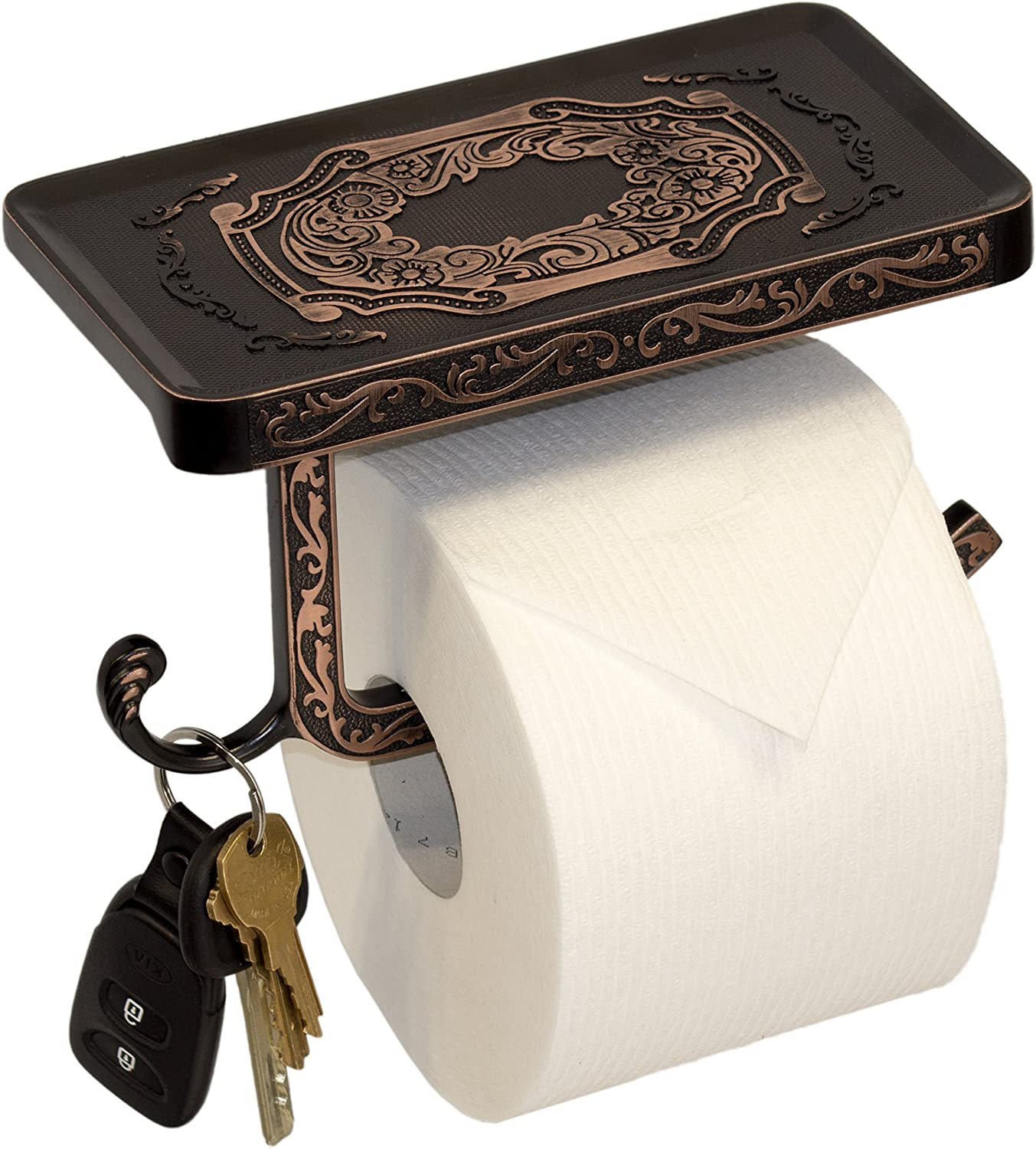 Neater Nest Reversible Toilet Paper and Holder Nashville-Davidson Mall Phone High quality with Shelf