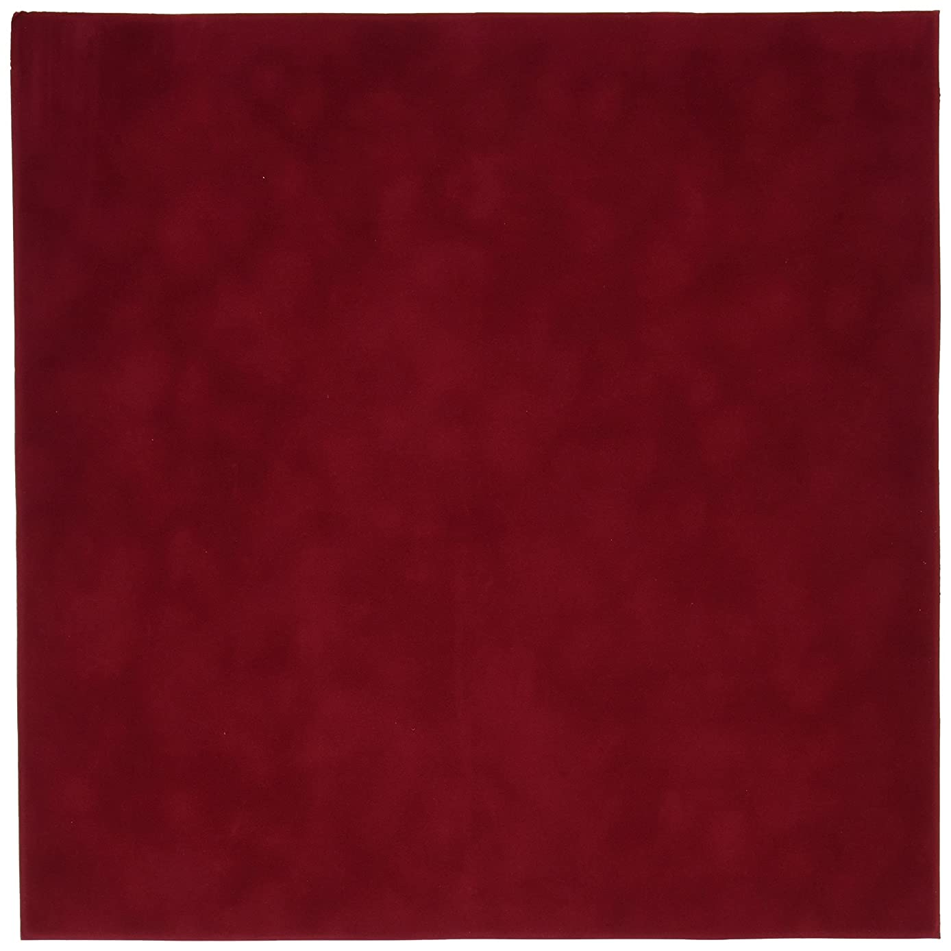 Sew Easy Industries 12-Sheet Velvet Paper, 12 by 12-Inch, Tomato