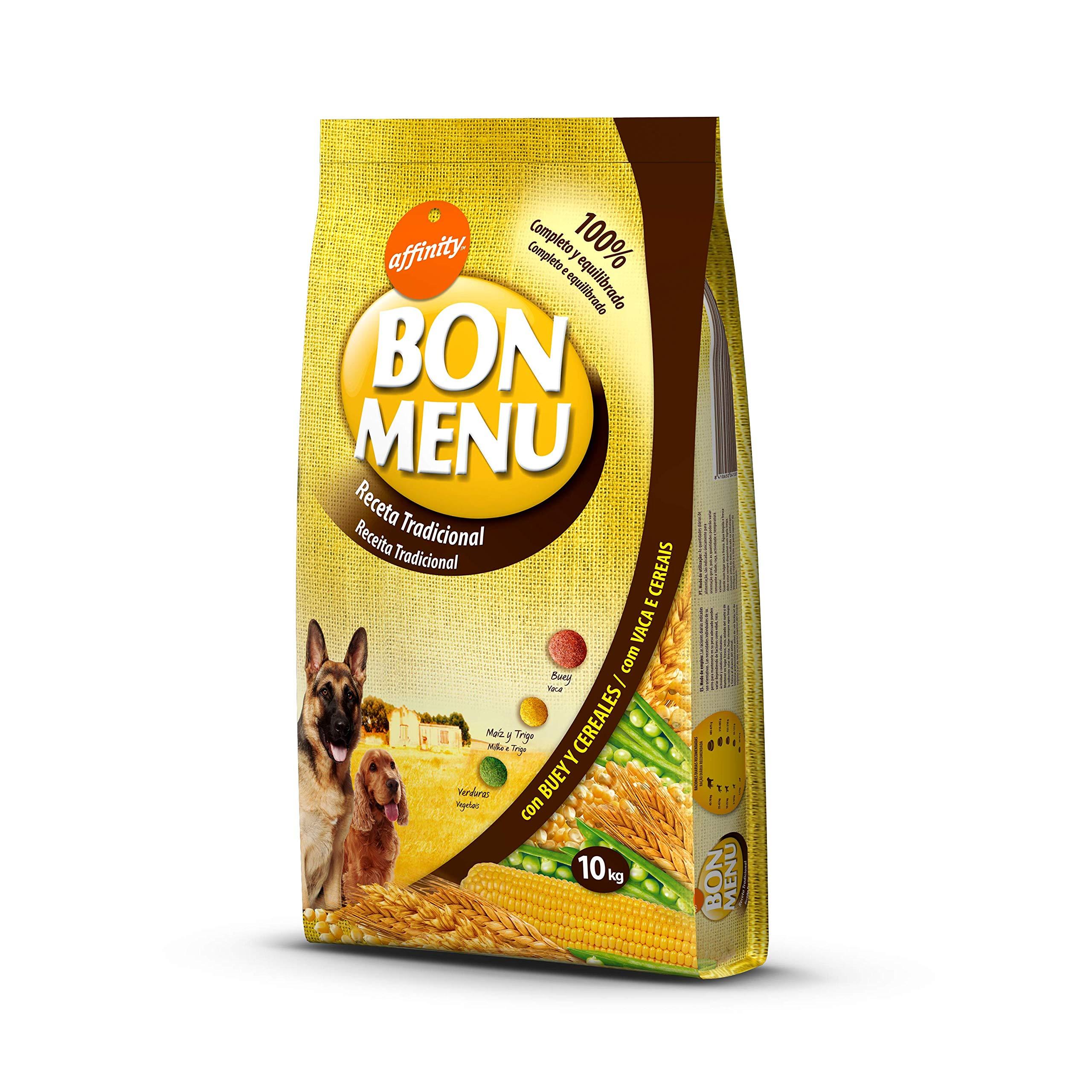 affinity Bon Menu - Receta Tradicional - Comida para Perros - 10 Kg: Amazon.es: Productos para mascotas