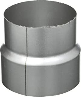 Kamino flam reducering silver, rostfri rörreduktion av elaluminerat stål, testad enligt standard EN 1856-2, för anslutning...