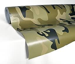 VViViD XPO Desert Camouflage Vinyl Car Boat Vehicle Wrap Vinyl Self Adhesive Stretch Conform Decal DIY (1ft x 5ft)