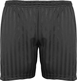 Maddins Kids Unisex Shadow Stripe Sports Shorts