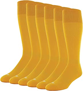 Sof Sole RBI Baseball Over-the-Calf Team Athletic Performance Socks for Men and Youth (6 Pairs)