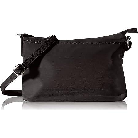 TOM TAILOR bags LARA Damen Umhängetasche M, black, 27x4x18