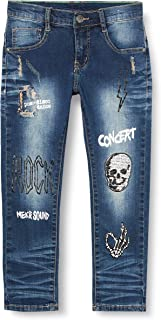 MEK Pant. Denim Elast. Moda Jeans para Niños