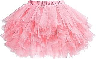 Tutu Skirt for Baby Girl Toddler 6 Layered Tulle Skirts 1-8T