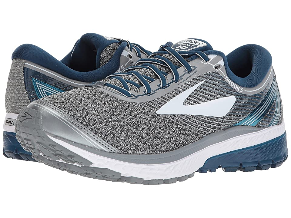 024995f9c83 Brooks Ghost 10 (Silver Blue White) Men s Running Shoes