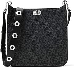 MICHAEL Michael Kors Large Signature Messenger Bag Black
