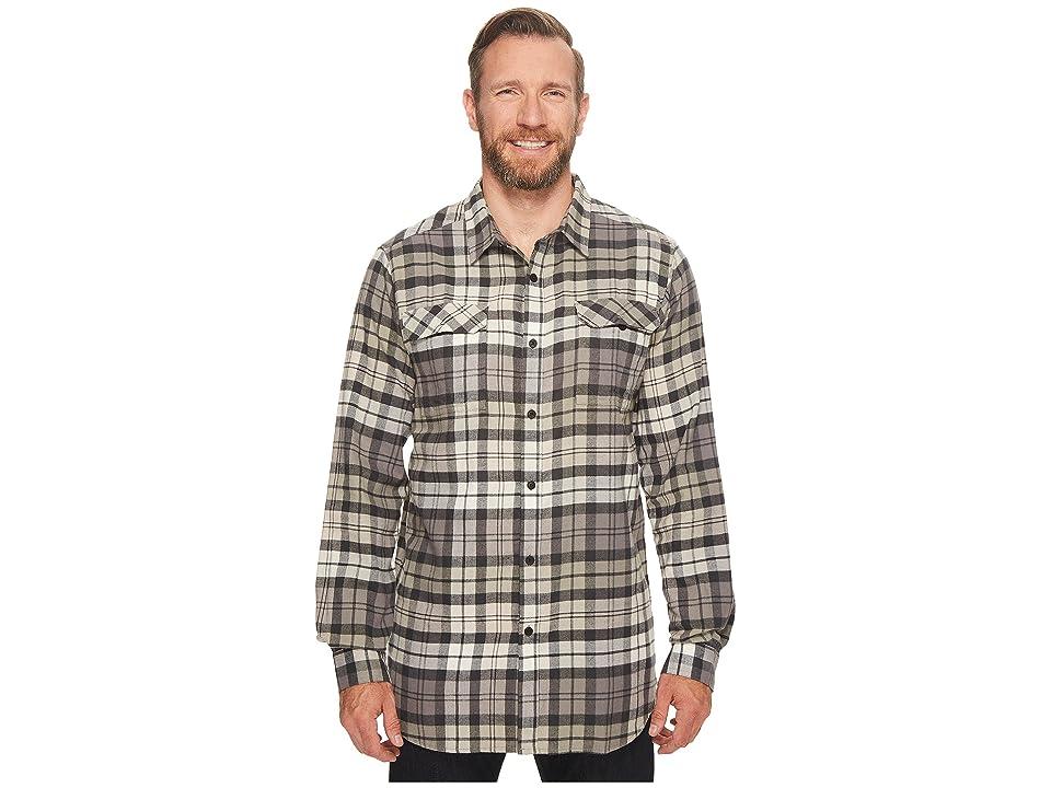 Columbia Big Tall Flare Gun Flannel III Long Sleeve Shirt (Shark Blanket Plaid) Men