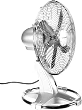 Honeywell HT216E Ventilateur de Table Oscillant Chrome